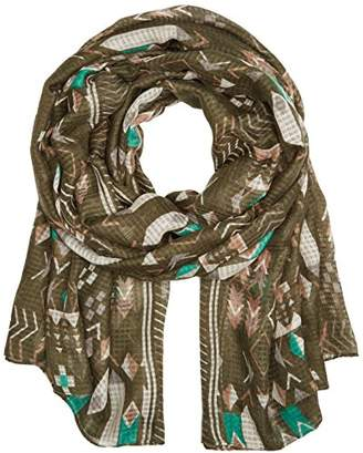 Pieces Women's PCSANNE Long Scarf, Multicolour Deep Lichen Green