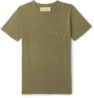 Mollusk Slub Hemp And Organic Cotton-Blend T-Shirt