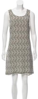 What Goes Around Comes Around Printed Sheath Dress