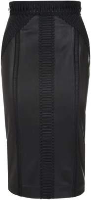 Amanda Wakeley Leather Pencil Skirt