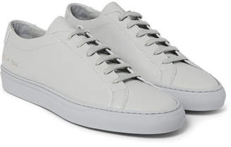 Common Projects Original Achilles Leather Sneakers - Light gray