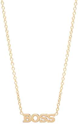Chicco Zoe Itty Bitty Typographical Pendant Necklace