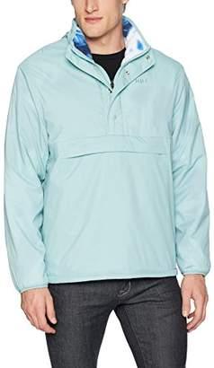 HUF Men's Kumo Reversible 1/4 Zip Jacket