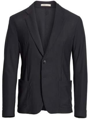 Armani Collezioni Regular Fit Stretch Blazer