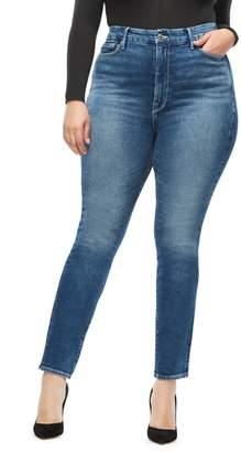 Good American Good Curvy High Waist Skinny Jeans