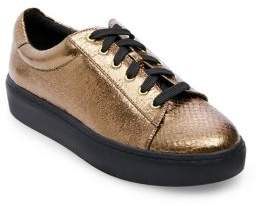 Design Lab Odell Snake Print Sneakers