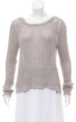 Inhabit Long Sleeve Scoop Neck Sweater