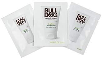 Bulldog ブルドッグスキンケアサシェ3点セット (フェイスウオッシュ(洗顔)4ml 、シェービングジェル4ml 、モイスチャライザー(保湿クリーム)2ml) 【実質無料サンプルストア対象】