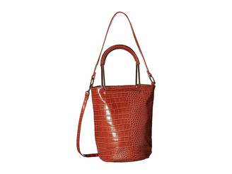 T-Shirt & Jeans Croc Metal Handle Convertible Tote Tote Handbags