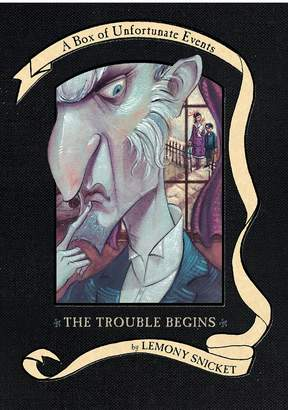 Harper Collins A Box of Unfortunate Events: The Trouble Begins (Books 1-3)