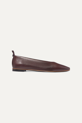 Bottega Veneta Leather Ballet Flats - Brown