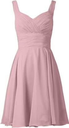 ThaliaDress Short Spaghetti Strap Bridesmaid Evening Dresses Prom Gowns T283LF US