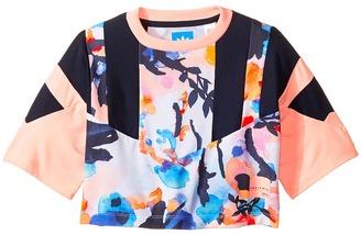 adidas Originals Kids - EQT Cropped Tee Girl's T Shirt $28 thestylecure.com
