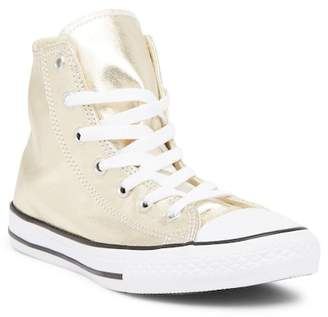 Converse Chuck Taylor All Star Metallic Hi-Top Sneaker (Little Kid)
