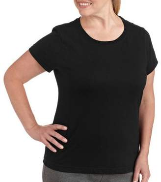 Danskin Womens Plus Size Dri More Core Workout Tee With Wicking