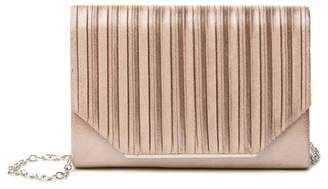 Jessica McClintock Alexis Ribbed Clutch