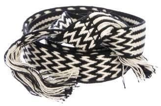 Etoile Isabel Marant Woven Wrap Around Belt