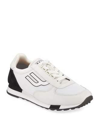 Bally Men's Gavino Retro Leather Running Sneaker