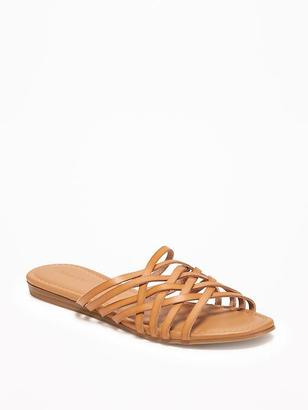 Slip-On Huarache Sandals for Women $24.94 thestylecure.com