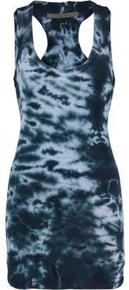 Enza Costa Printed Cotton-Jersey Mini Dress