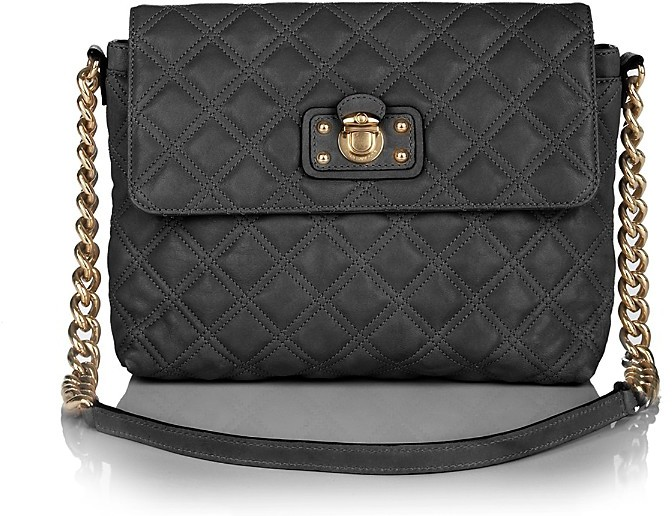 Marc Jacobs Quilting The Large Single Leather Shoulder Bag