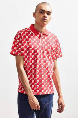 Fila + Pierre Cardin Checkered Polo Shirt