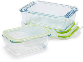 Sur La Table 6-Piece Glass Storage Container Set