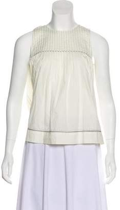 Ulla Johnson Pleated Sleeveless Top