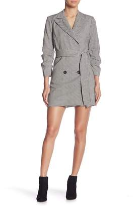 Do & Be Do + Be Houndstooth Blazer Dress