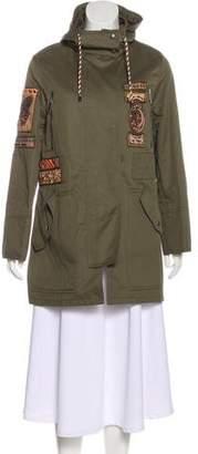 Valentino Embellished Short Coat w/ Tags