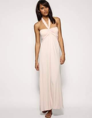 Asos Design Jersey Halter Maxi Dress