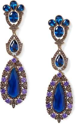 Ralph Lauren Long Drop Chandelier Earrings