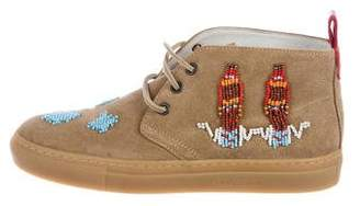 Del Toro Road to Taos Suede Sneakers