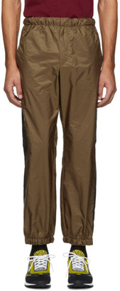 Prada Tan Stripe Lounge Pants