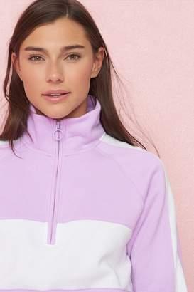 Garage Mock Neck Zippie Pullover Sweatshirt - FINAL SALE