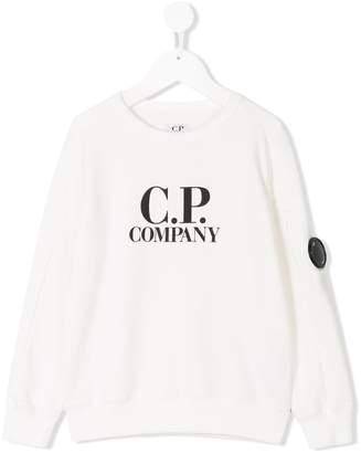 C.P. Company Kids printed sweatshirt