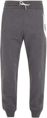Moncler Contrast-panel cotton track pants