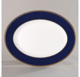 """Wedgwood Renaissance Gold"""" Oval Platter, 13"""""""
