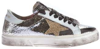 Golden Goose Metallic May Sneakers