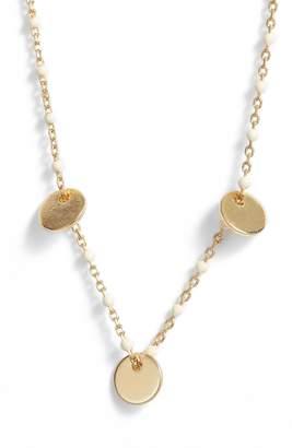 Argentovivo Enamel Disc Necklace