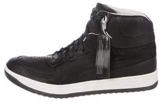 Alexander McQueen x Puma Suede High-Top Sneakers