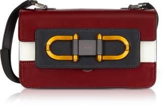 Furla Ciliegia Leather Bellaria Mini Crossbody Bag