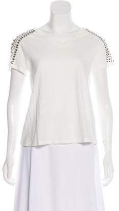 Elizabeth and James Embellished Short Sleeve T-Shirt w/ Tags