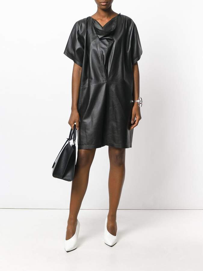 Jil Sander cowl neck dress