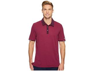 adidas climachill Tonal Stripe Polo Men's Short Sleeve Pullover