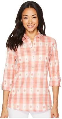 Pendleton Harding Cotton Plaid Shirt Women's Long Sleeve Button Up