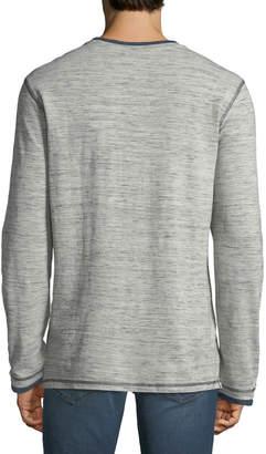 Report Collection Men's Slub Henley T-Shirt