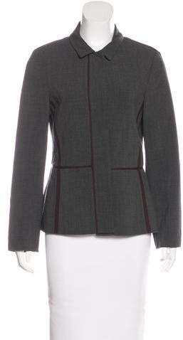 Calvin Klein Collection Structured Long Sleeve Jacket
