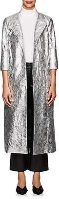 Osman Women's Joplin Faux-Leather Trench Coat