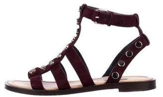 Balenciaga Studded Gladiator Sandals